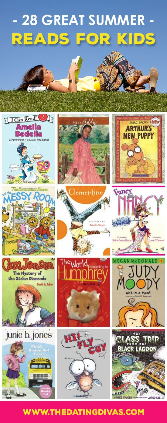 Top Kid's Books! The ultimate summer reading list!!