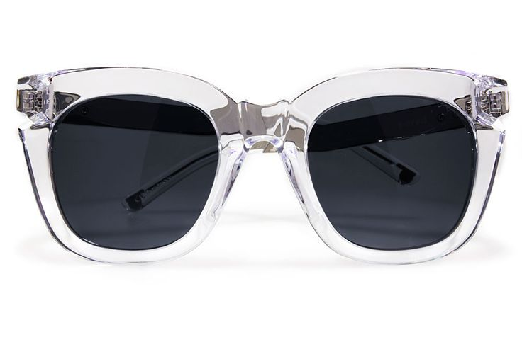 BRIGHT LIGHTS CLEAR / SILVER / SOLID GREY KRYSTLE KNIGHT X PARED EYEWEAR
