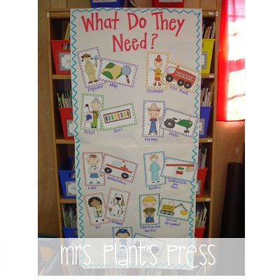 Matching up community helper and the tools they use