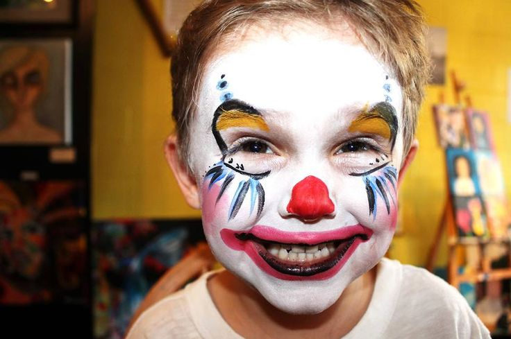 Face painting in our studio for kids and adults!