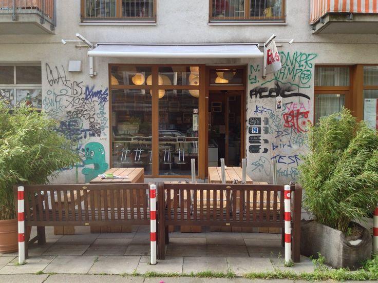 Bester Coffee to Go auf der Marktstraße
