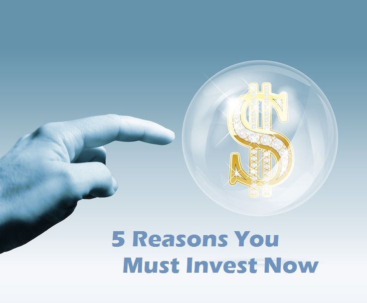 If you don't invest, you set yourself up for financial failure. If you need convincing, read these 5 reasons you must invest today. Passive Investing, Investing Tips, #invest