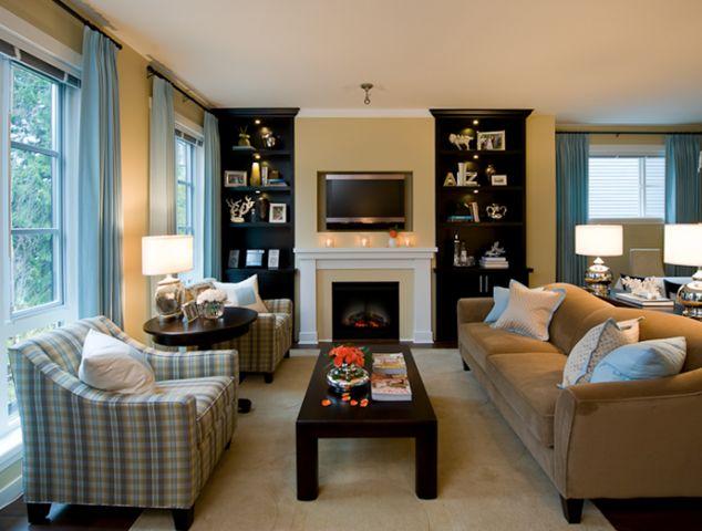 how to get a designer living room on a budget