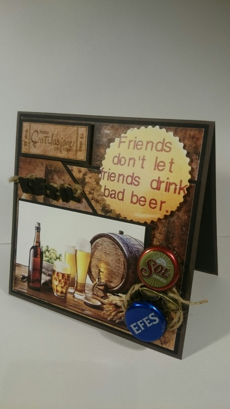 Kort til en øl-elsker.