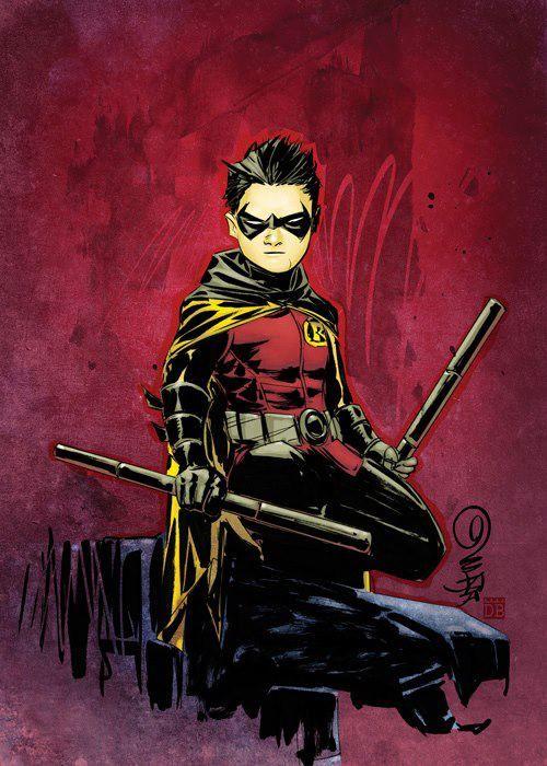 Damian Wayne - Robin   Robin/Damian Wayne   Pinterest