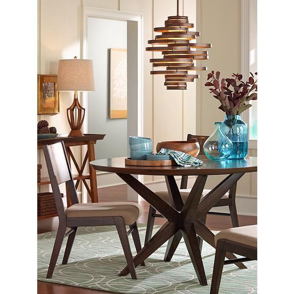 corbett vertigo 18 inch w foyer pendant light pendants. Black Bedroom Furniture Sets. Home Design Ideas