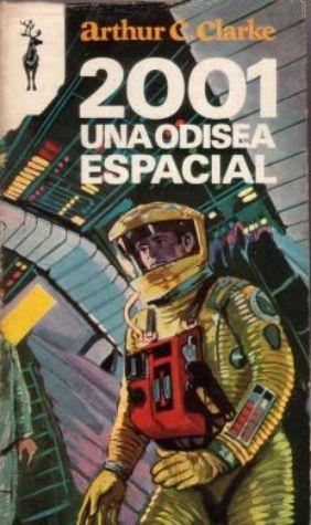 Portada de un ejemplar de 2001 una odisea espacial.