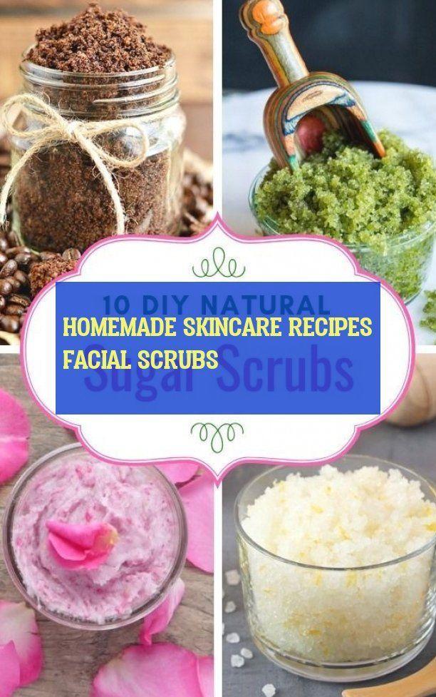 homemade skincare recipes facial scrubs - homemade skincare recipes facial ...  -  Hautpflege-Rezepte