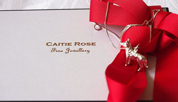 3D Dog Sterling Silver Necklace. Gifts. by Caitierosenirvana