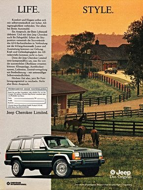 1992 Jeep Cherokee Limited (Germany)   by aldenjewell