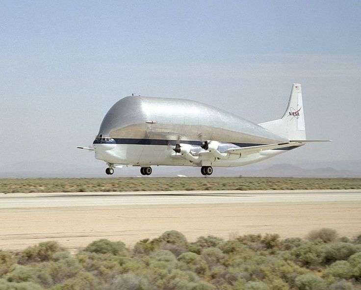 now this is a big plane! Super Guppy N941: NASAs biggest cargo aircraft.