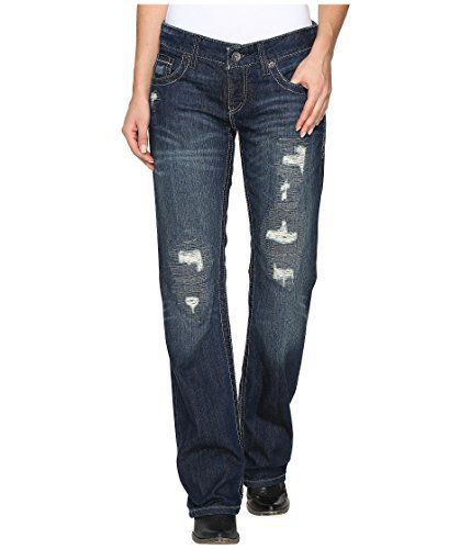 CRUEL GIRL BLAKE DARK WASH SLIM WOMEN'S JEANS - CB47254071