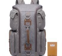 KAUKKO El Yapımı Premium Outdoor Kanvas Çanta (SB1500)
