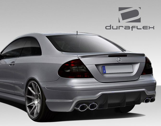 2003-2009 Mercedes CLK W209 Duraflex SL65 Look Rear Bumper Cover - 1 Piece
