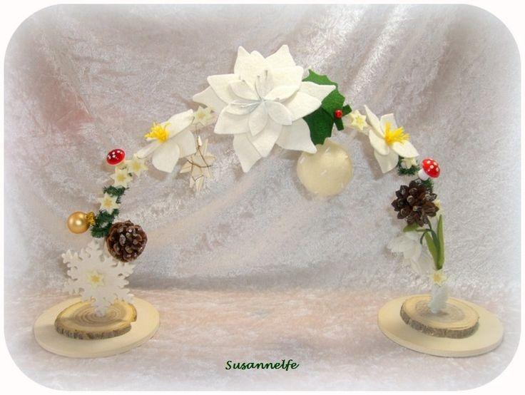 ANNAS Bogen Winter  Jahreszeitentisch von Susannelfes Blumenkinder  auf DaWanda.com
