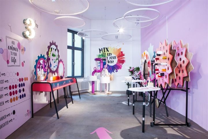 essence Maker Shop pop-up by ARNO Berlin  Germany