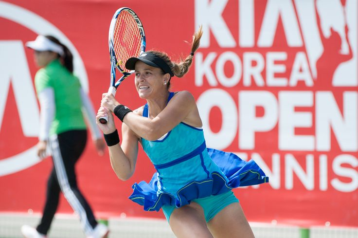 9/18/14 Wild Card Nicole Gibbs def. Wild Card Danka Kovinic 1-6, 6-4, 7-6 to advance to the QFs of the Korea Open.