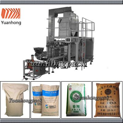 Automatic Packing Line For Industry Automation in the future: 50KG Automatic Granule Bag Given Packing Machine