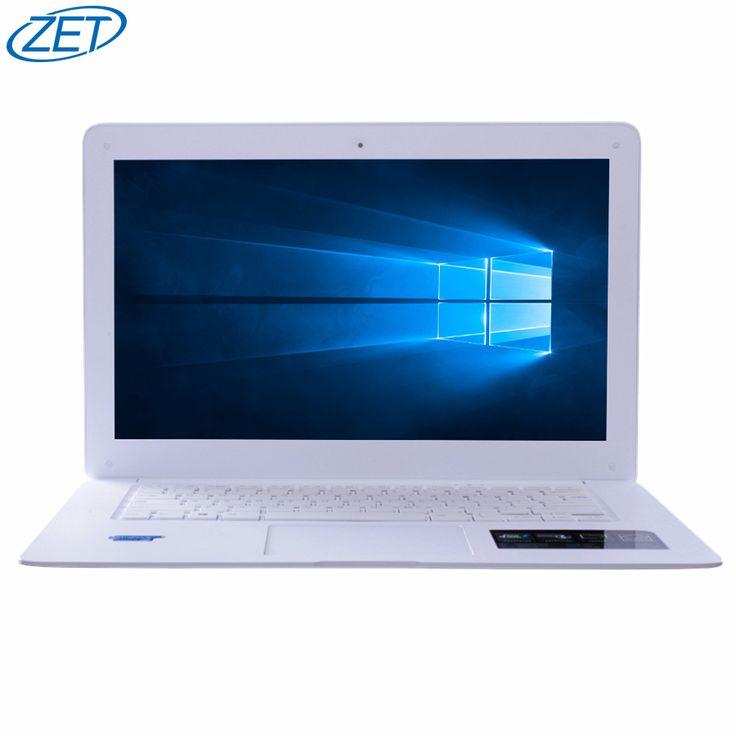 ZEUSLAP Marca 8 GB de Ram 120 GB SSD 500 GB HDD Windows 7/10 Ultrafino Quad Core J1900 Rápido de arranque Portátil Netbook