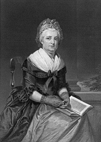 Martha Washington, wife of President George Washington