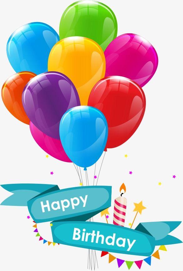 Vector Cartoon Birthday Balloons Cartoon Clipart Birthday Balloons Cartoon Balloons Png Transparent Clipart Image And Psd File For Free Download Birthday Card Template Birthday Balloons Happy Birthday Logo