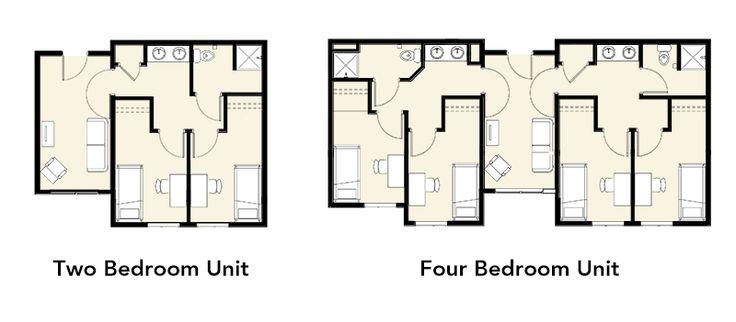 Resultado de imagen para student residence best plans