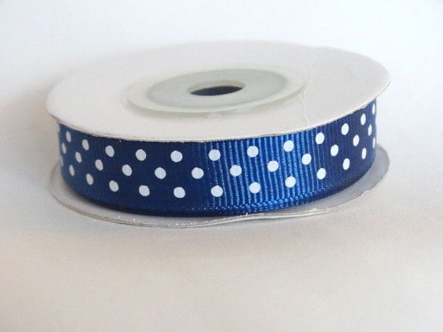 Tasiemka rypsowa 12mm - tkaninoweLOVE - Materiał motywy graficzne