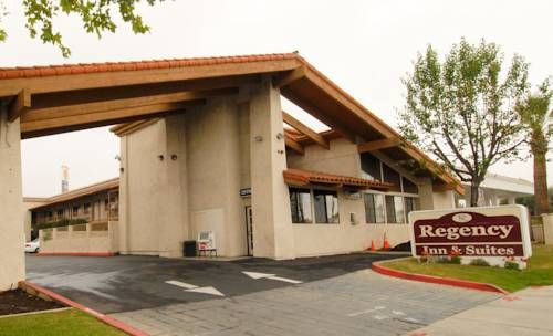 Regency Inn Moreno Valley (California) Featuring an outdoor pool, Regency Inn is located in Moreno Valley. Free Wi-Fi access is available in all rooms.  Cable TV is offered in all guest rooms at the Regency Inn. A microwave and small fridge are also provided.