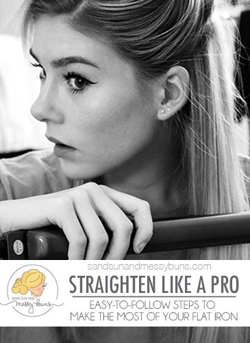 Hair straightening tips to make the most of your flat iron