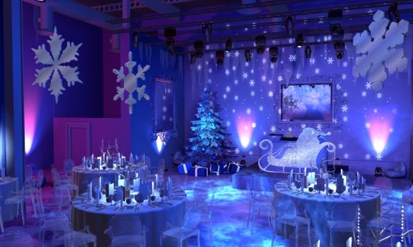 Wonderland Theme Wedding Reception The Gallery Winter