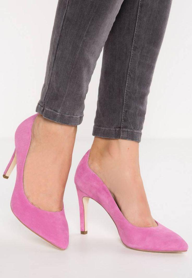 KIOMI. High heels - pink. Pattern:plain. Sole:synthetics. heel