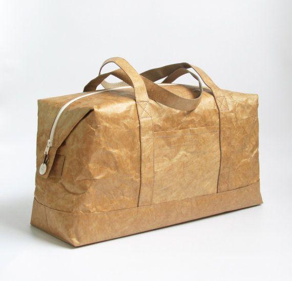 Boston bolsa de papel Tyvek minimalista ligero por BlueMoonValley