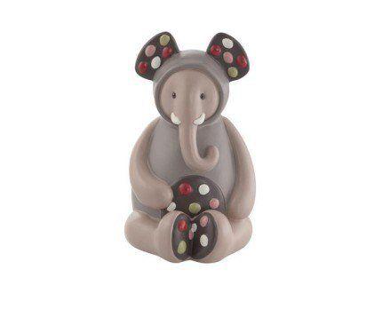 La #tirelire #éléphant de Moulin Roty faite de résine sera parfaite pour les petites économies. #tirelireéléphantleszazous #leszazous #animaux