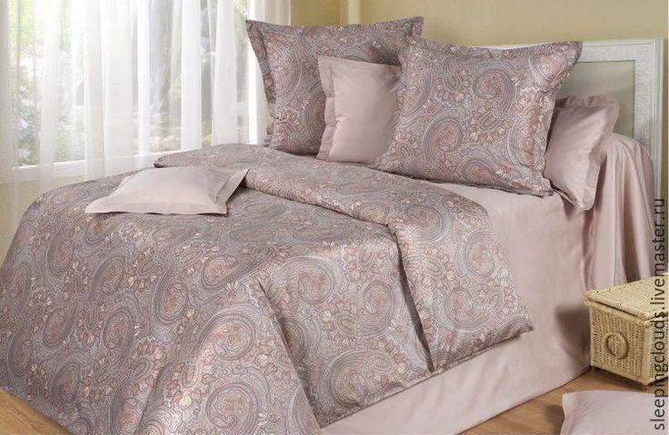 Купить Постельное бельё ручной работы Восточная роскошь - коричневый, постельное белье, постельные принадлежности