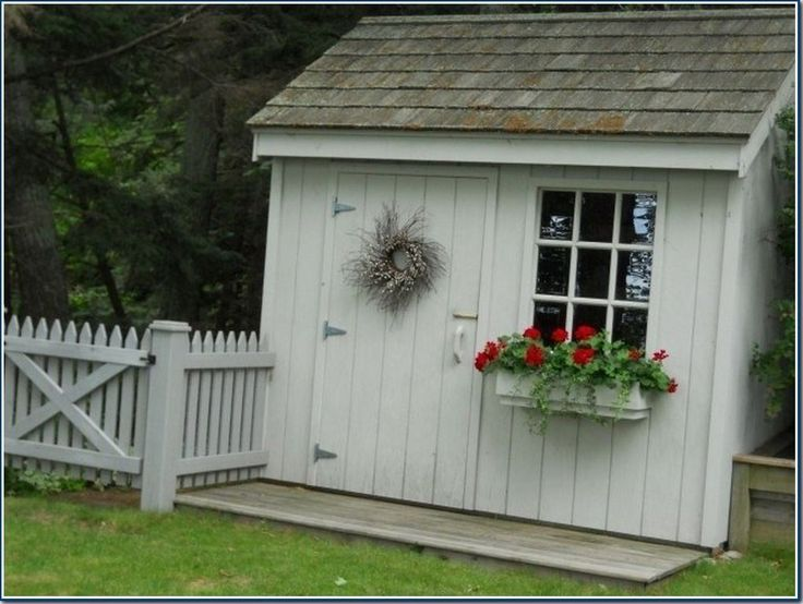 896 best garden shed tuinschuurtje images on pinterest - Garden sheds michigan ...