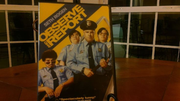 """Seth Rogen in """"OBSERVE AND REPORT"""" Full-Screen/ Widescreen , Like New!"""