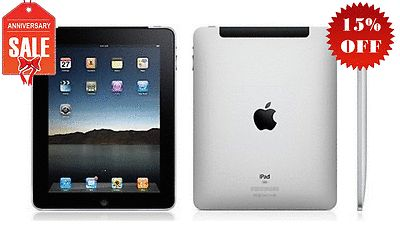 Apple iPad 1st Generation 32GB, Wi-Fi + 3G (Unlocked), 9.7in - Black GOOD (R-D) - http://www.computerlaptoprepairsyork.co.uk/apple-products/apple-ipad-1st-generation-32gb-wi-fi-3g-unlocked-9-7in-black-good-r-d