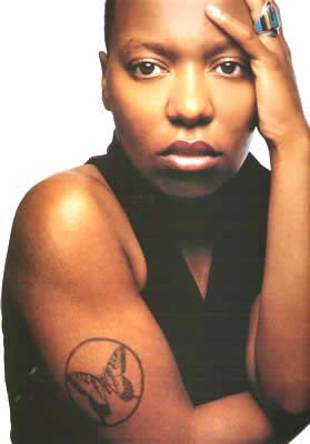 Meshell Ndegeocello is an American singer-songwriter, rapper, bassist, and vocalist. Her music incorporates a wide variety of influences, including funk, soul, hip hop, reggae, R, rock, and jazz.
