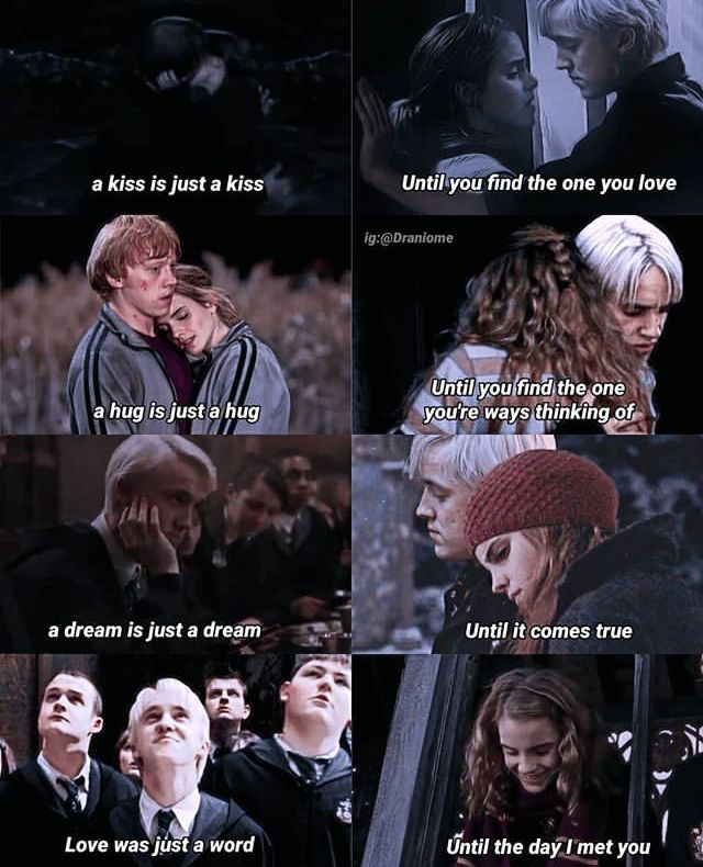 Dramione Harry Potter Texts Harry Potter Hermione Harry Potter Characters