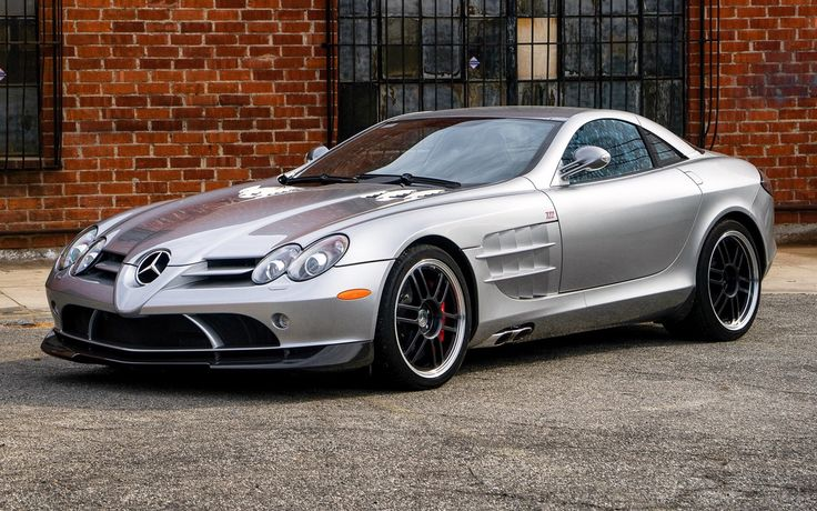 """SLR McLaren 722 Edition """"What a Legend"""". The SLR 722 Edition is a car manufactured jointly by Mercedes-Benz and McLaren. The SLR was named as an hommage to the original 300 SLR. The 722 nameplate is derived from the victory won by the British racing..."""