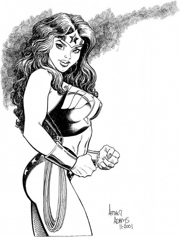 The Women Of Dc Comics Ink In Adam Withers S Dc Comics: 295 Best Artist - Arthur Adams Images On Pinterest