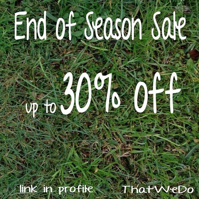It's ThatWeDo's End of Season SALE!! Head over to Etsy to take home a great deal on one of our gorgeous necklaces, bracelets and earrings, link in profile.