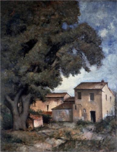 Meriggio - Carlo Carra