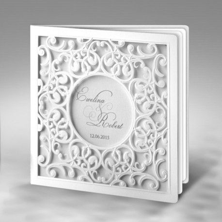 Laser cut and intricate wedding invitations with floral motifs and delicate designs in low price.