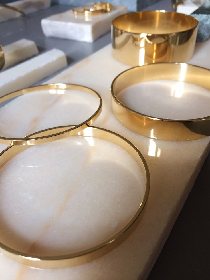A Y M Gold Bracelets