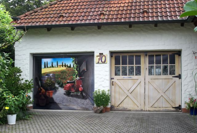 78 images about garage door mural on pinterest gardens for Cost of a mural