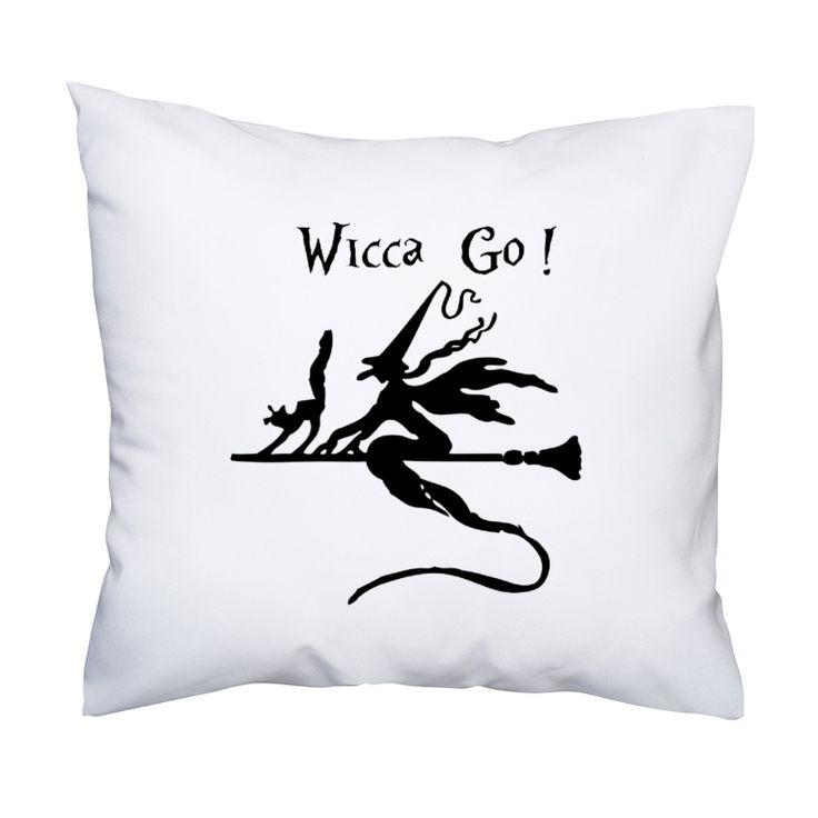 Elegancka poduszka Wicca GO!