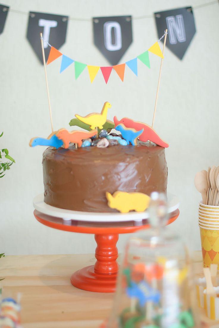 Inspiração para festa de menino: dinossauros!