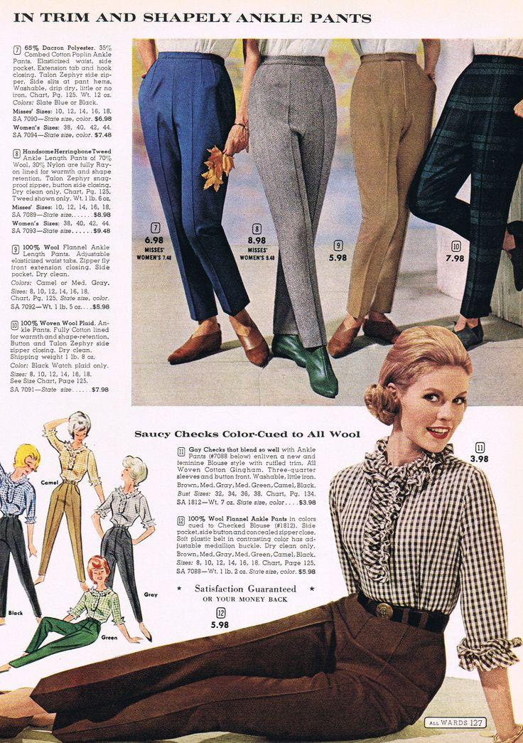60u0027s ankle pants