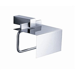 @Overstock - Dispensing toilet paper becomes a stylish endeavor with the addition of this brass toilet paper holder to your space. This contemporary toilet paper holder is crafted from chrome brass and will lend a sleek, modern vibe to your bathroom space.http://www.overstock.com/Home-Garden/Fresca-Ellite-Toilet-Paper-Holder/5222673/product.html?CID=214117 $63.40